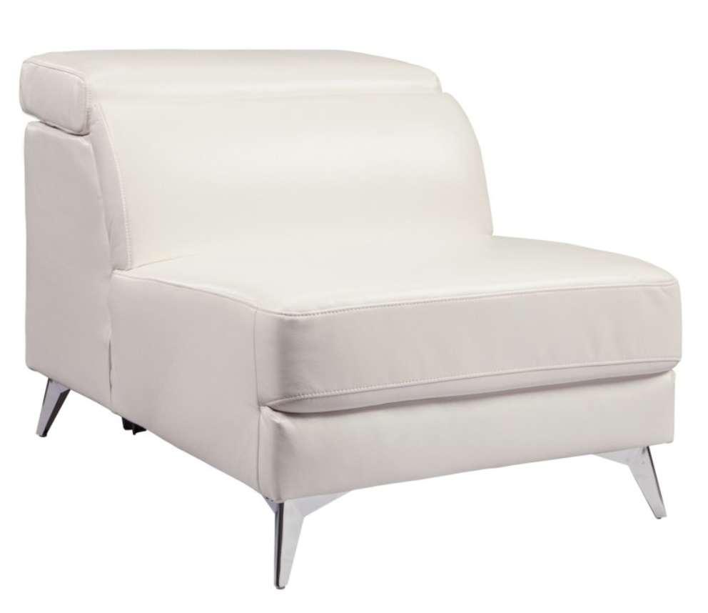 White Armless Side Chair with Adjustable Back.png