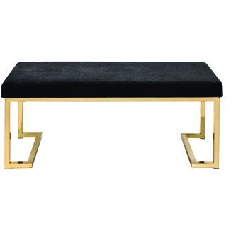 Black & Gold Bench -