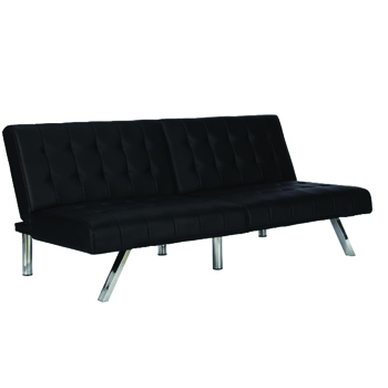 Black Lounge Sofa -