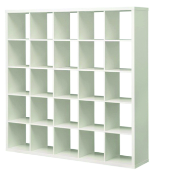 White Cubed Shelf -
