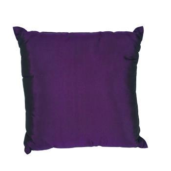 Purple Silk Pillow -