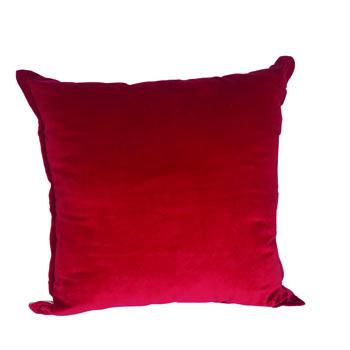 Red Velvet Pillow -