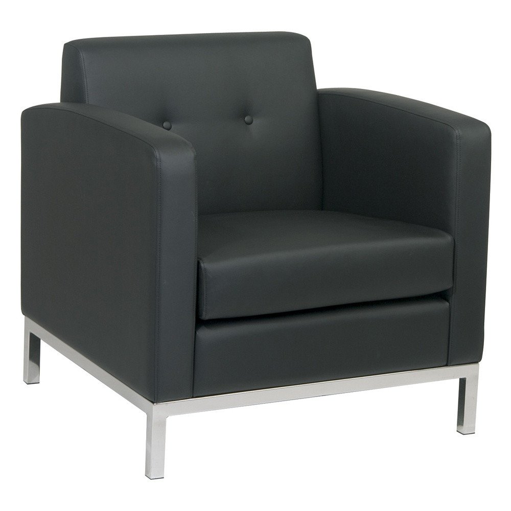 Black & Silver Lounge Chair.jpg