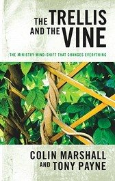Book cover, The Trellis and the Vine