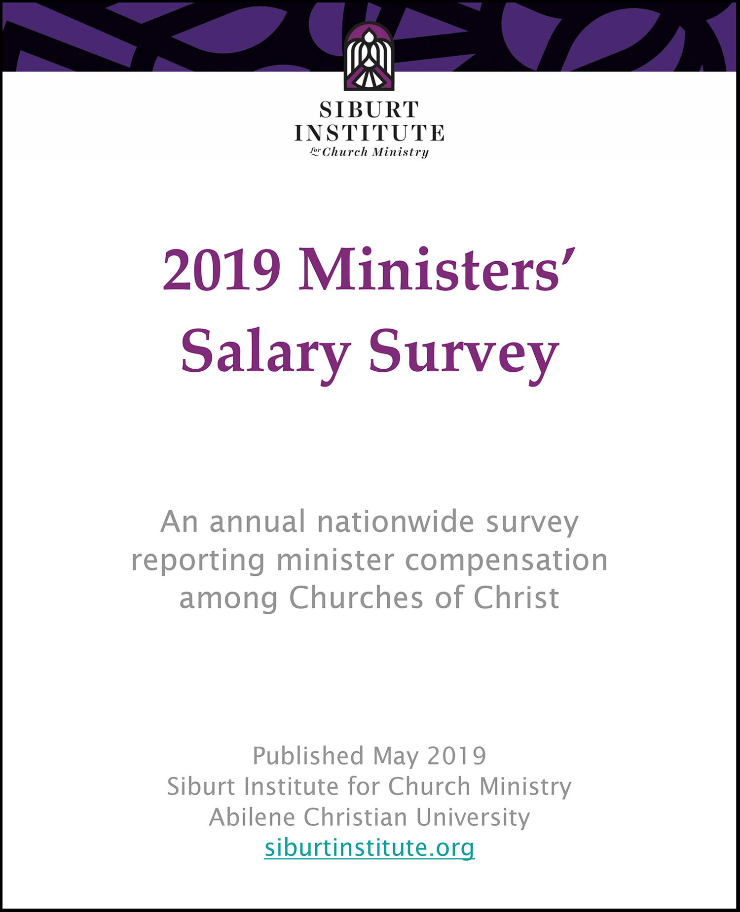 2019 salary survey cover