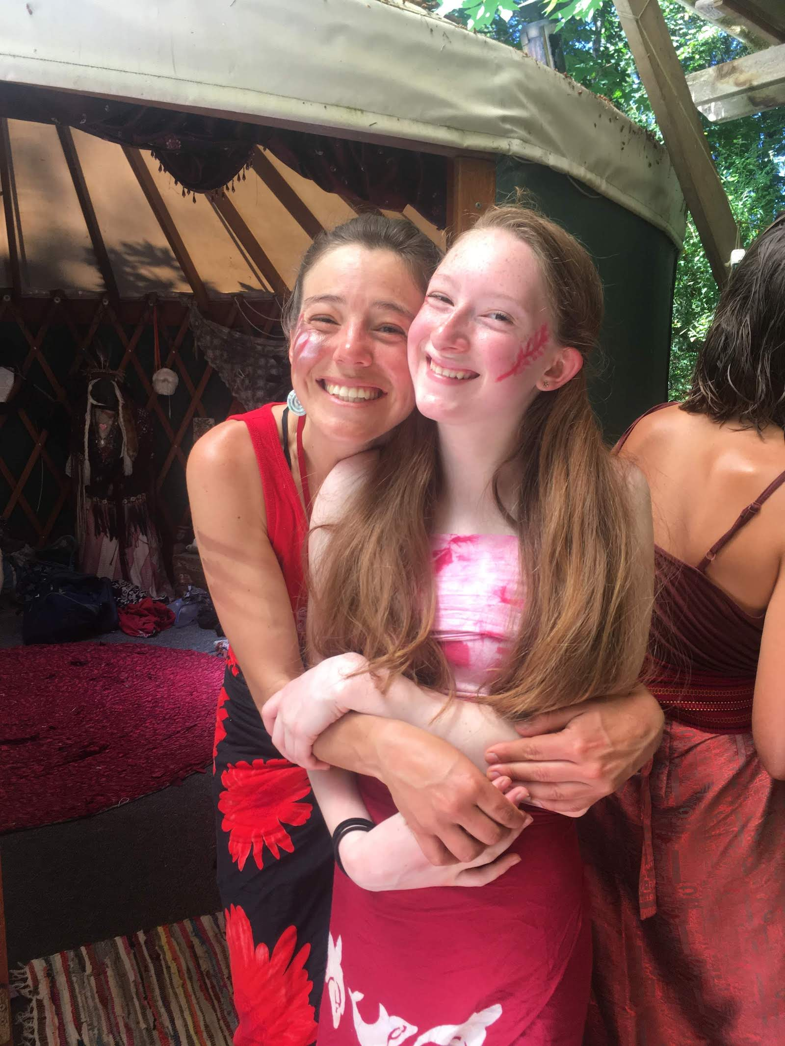 Participants spend a week at a moonlodge, engaging in a rite of passage experience to honor and celebrate the conscious step into young womanhood.