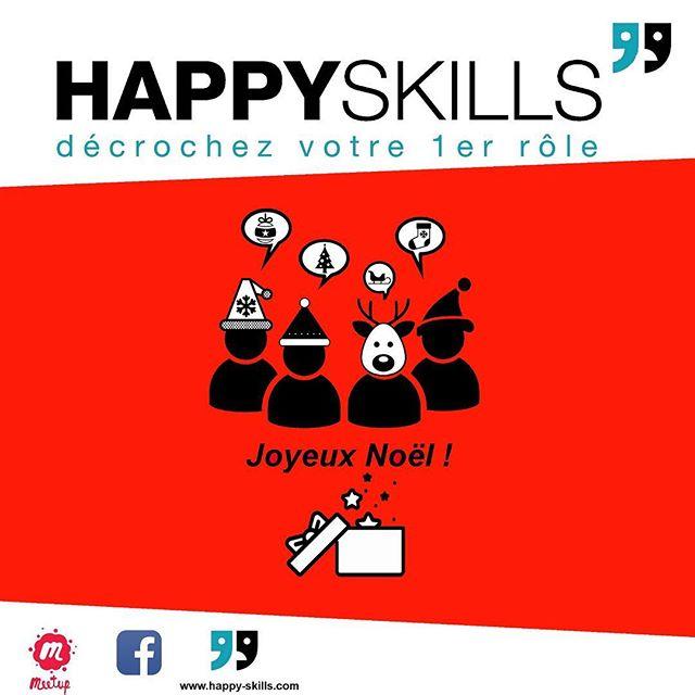 Happyskills et ses joyeux skillers @liviaplana @jonatown_azu @blue_azrak vous souhaitent un flamboyant Noël 🎄 ! #noel #parlerenpublic #prisedeparole #prisedeparoleenpublic #discours #speech #grandoral