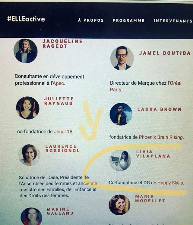 Happyskills interviendra au forum #elleactive à Paris le 30 mars 2019 pour un atelier faire face au sexisme 🚺💪