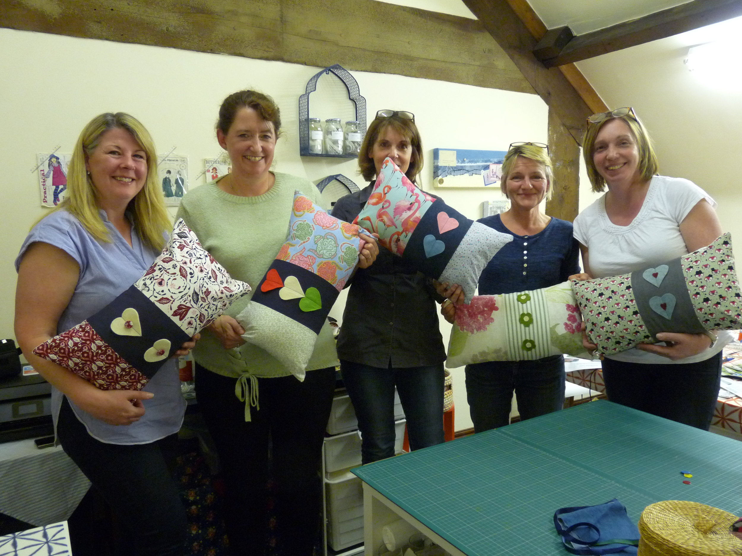 Cushion Making Party