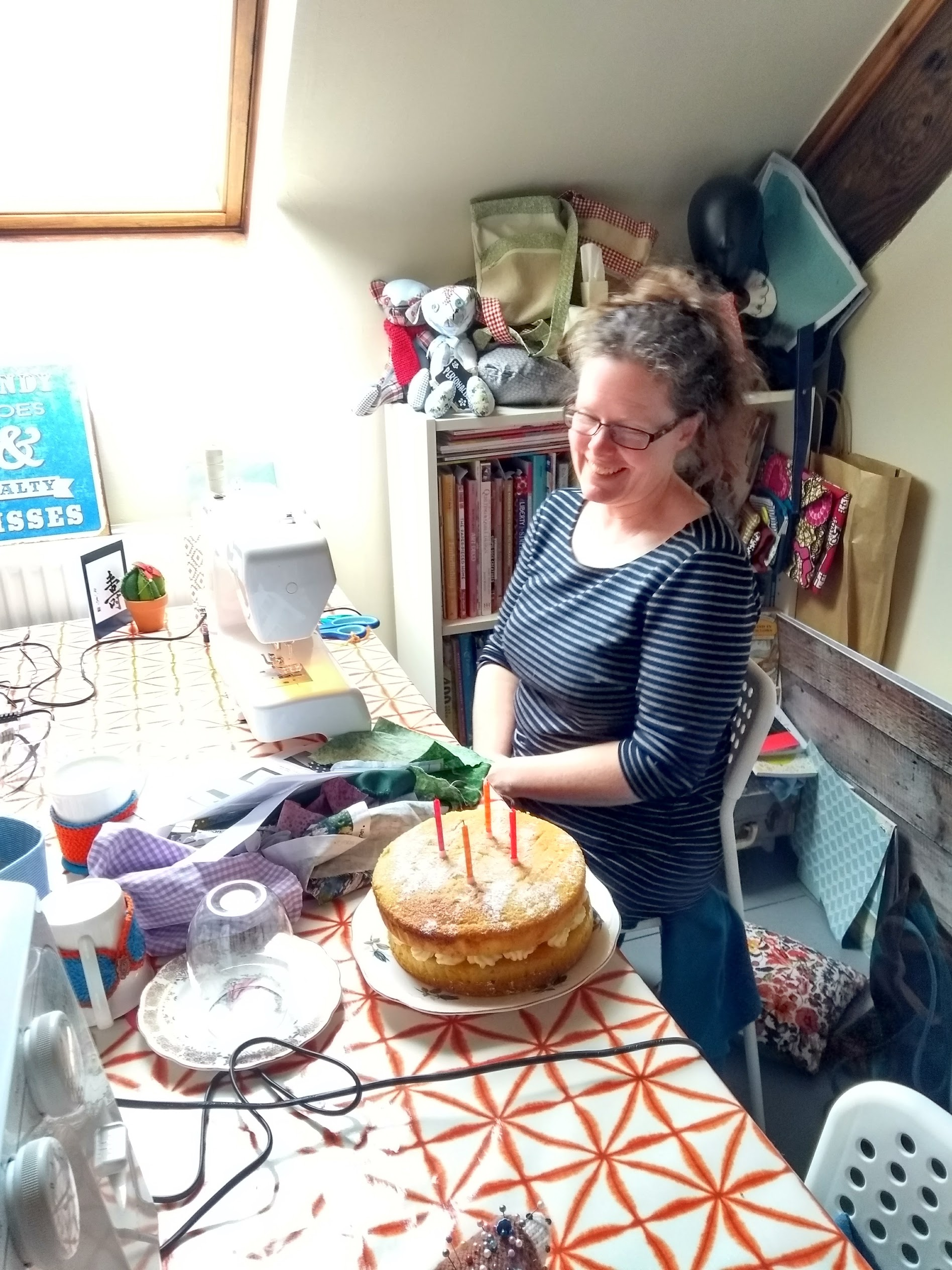 Sewing Birthday Party