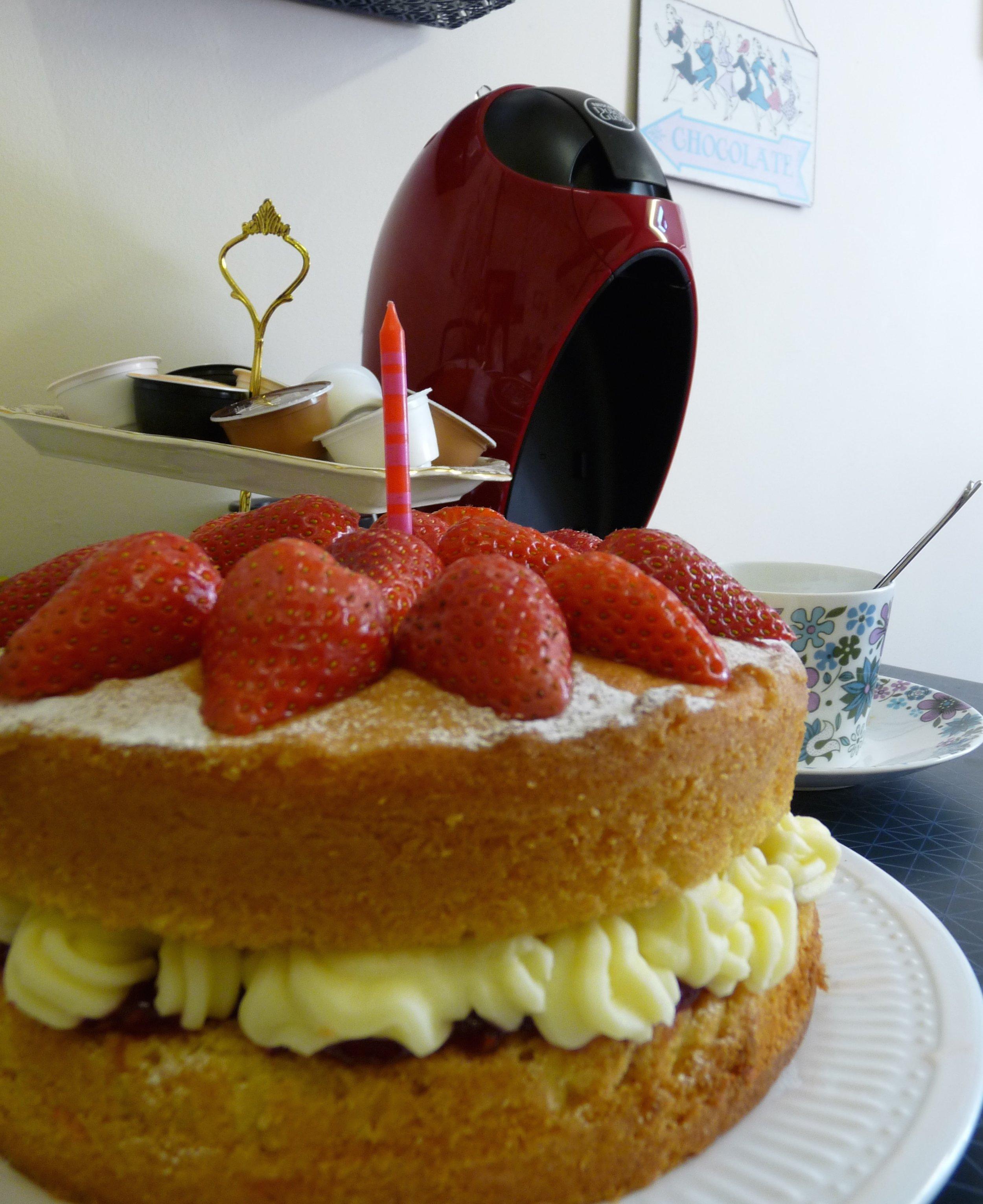 Birthday party cake!