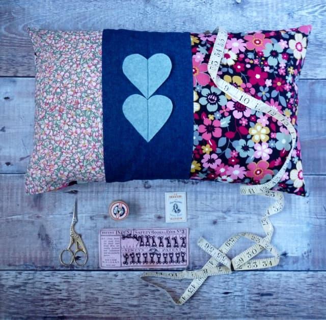 Patchwork Envelope Cushion