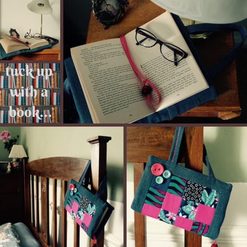 Patchwork Book Bag