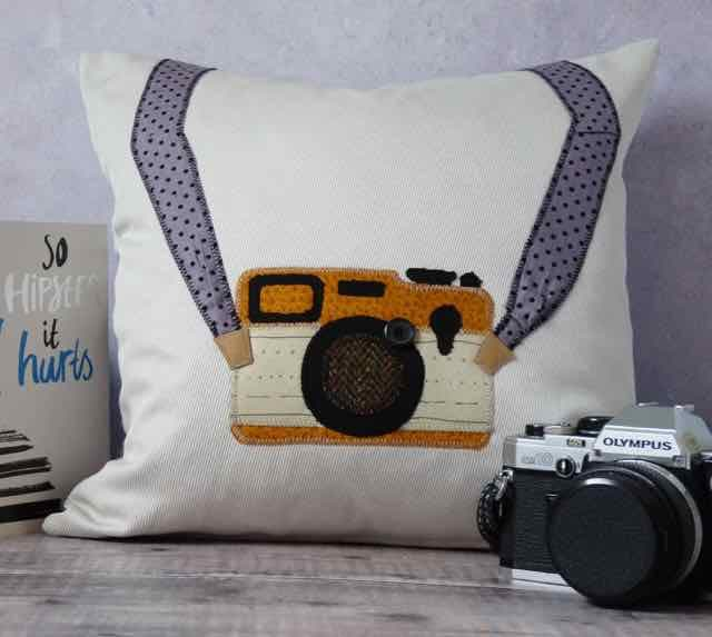 Create your Own Machine Embroidered Cushion