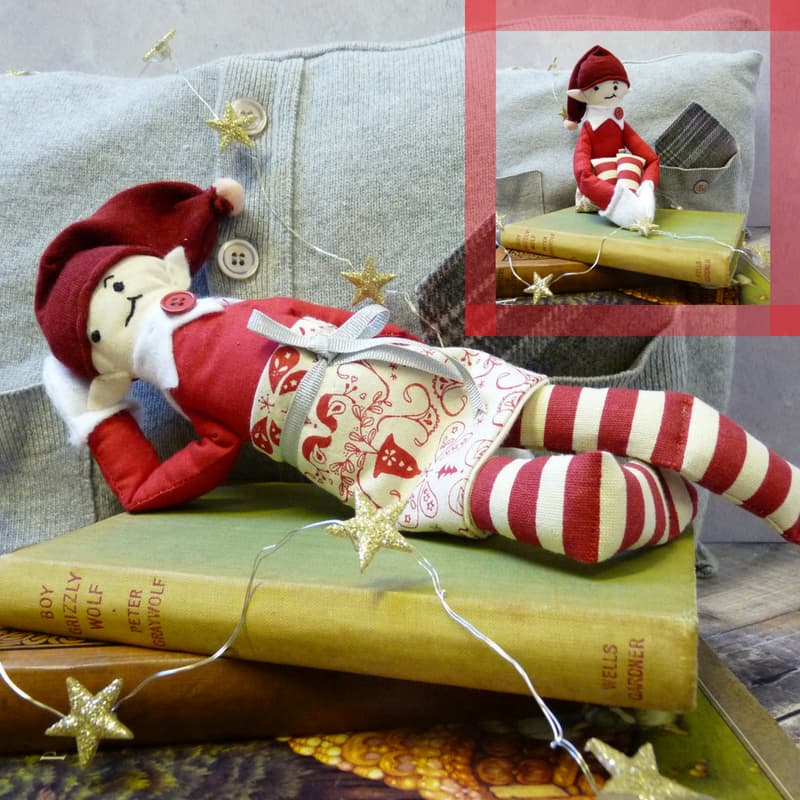 Cheeky Elf on the Shelf