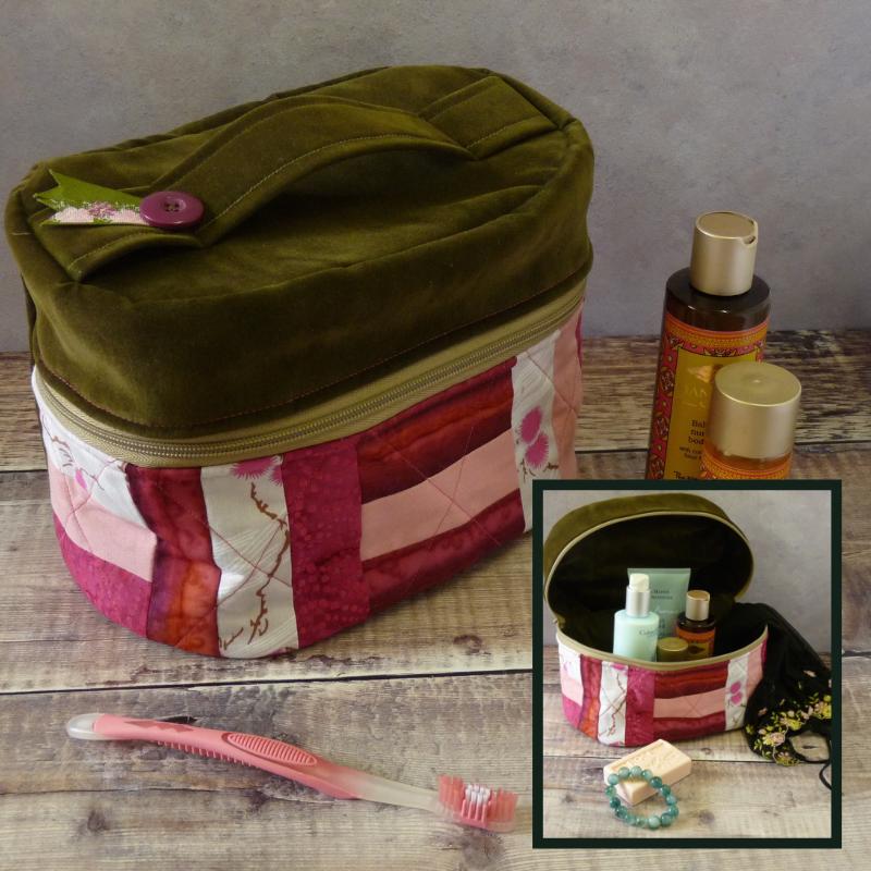 Patchwork Vanity Bag
