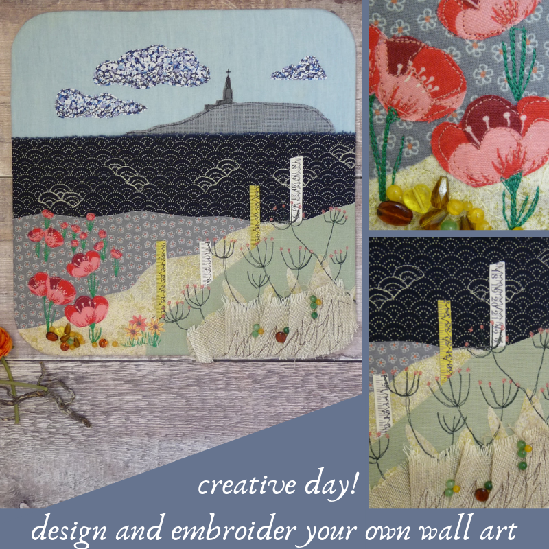 Design a Wall Art (with applique and embroidery)