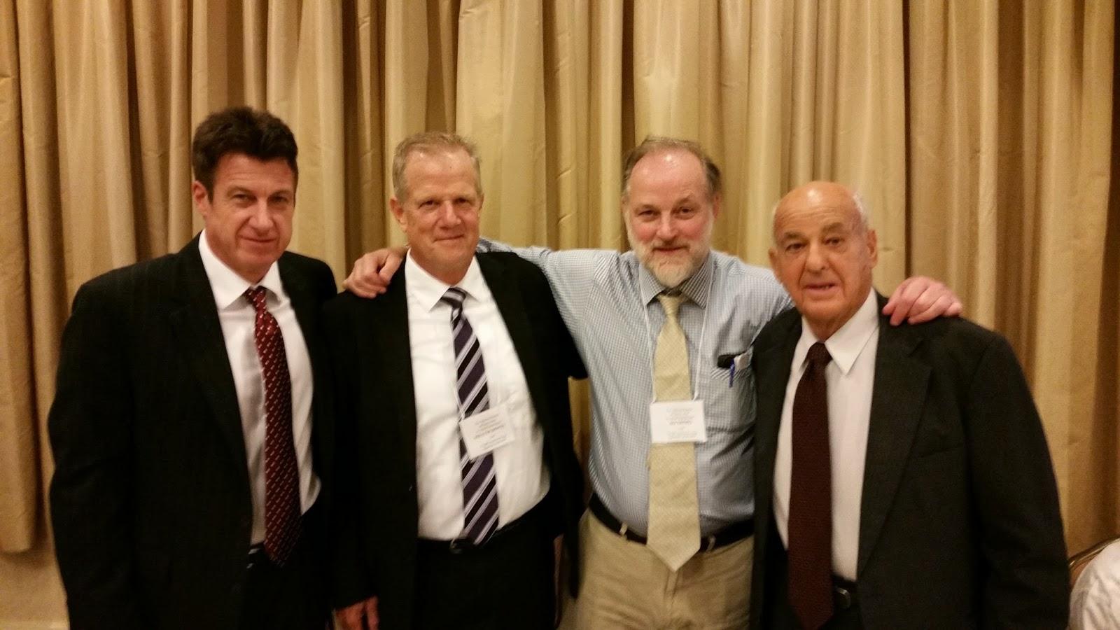 Founding members David Denton, Walter Boyes, and Ed Tatro