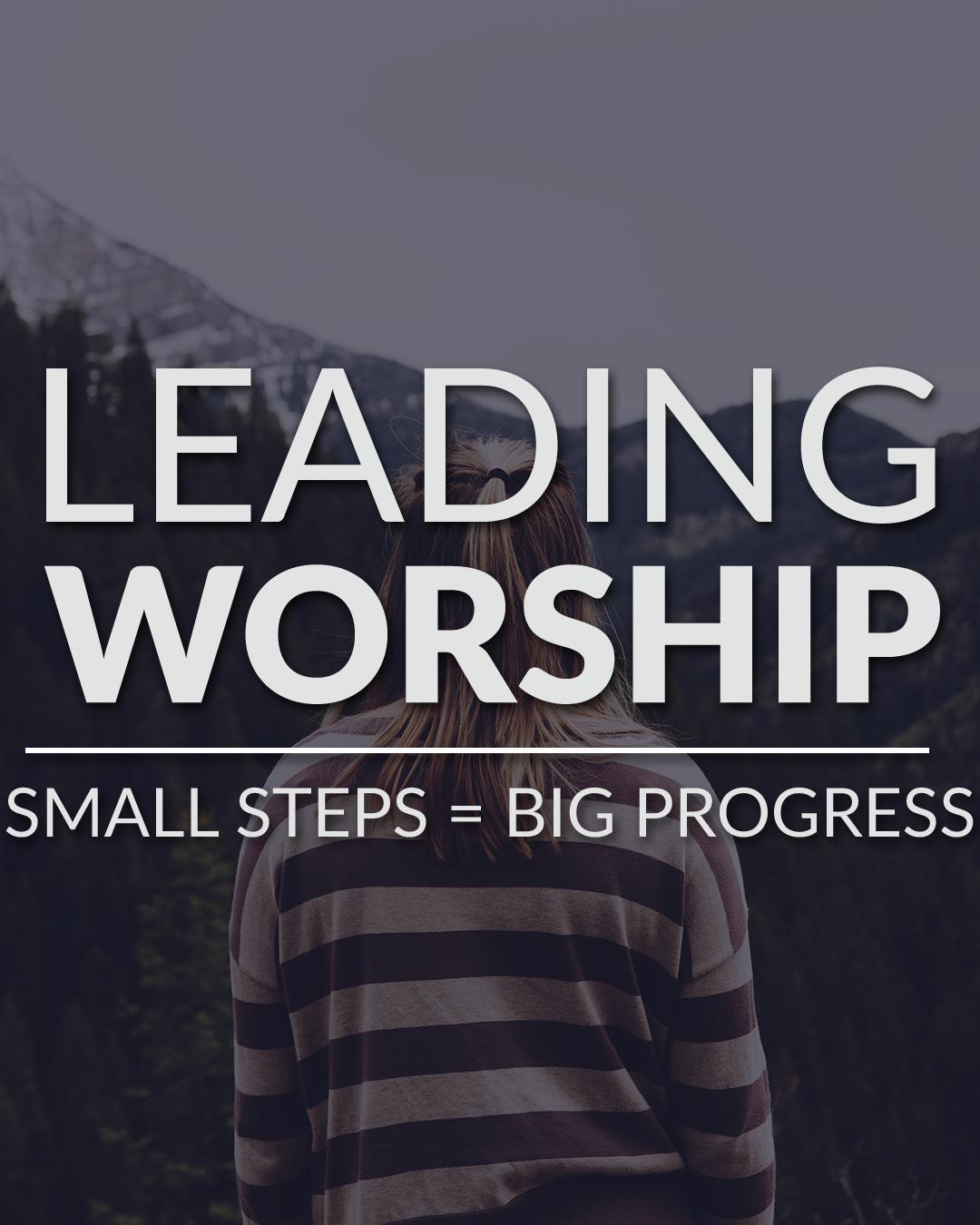 Small steps equals big progress