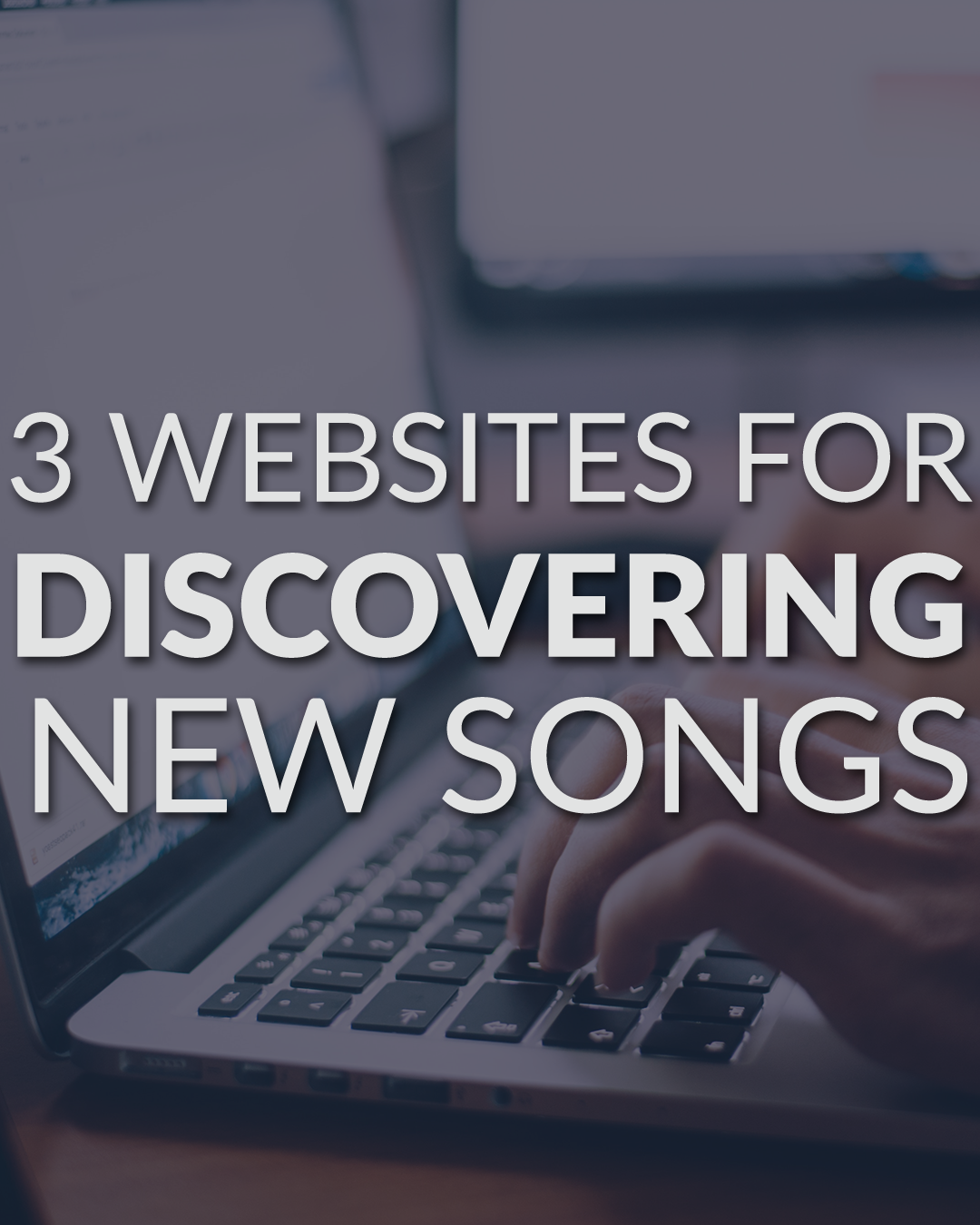 Discover new worship songs