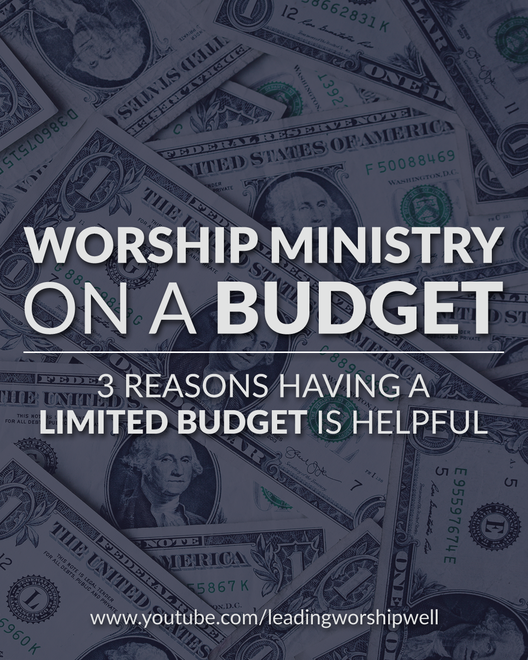 Worship Ministry On A Budget | 3 Reasons Having A Limited Budget Is Helpful (Video)