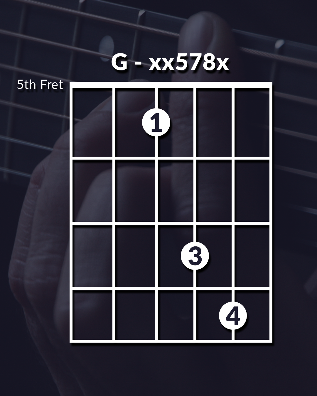 Unique Guitar Chord G