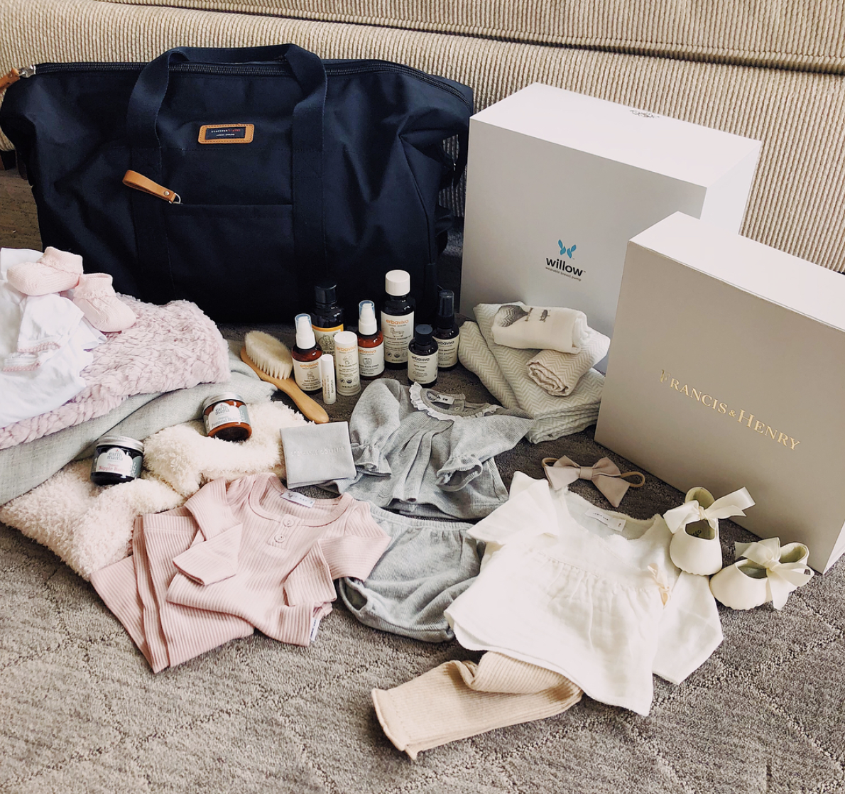 Everything That Was In My Hospital Bag For Leo -