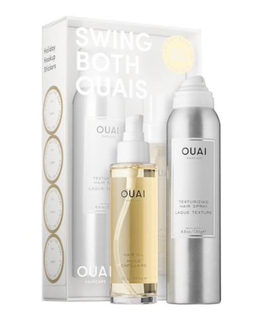 OUAI HAIR TEXTURIZING SPRAY & OIL -