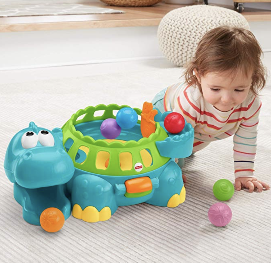 FISHER PRICE POPPITY POP MUSICAL DINO -