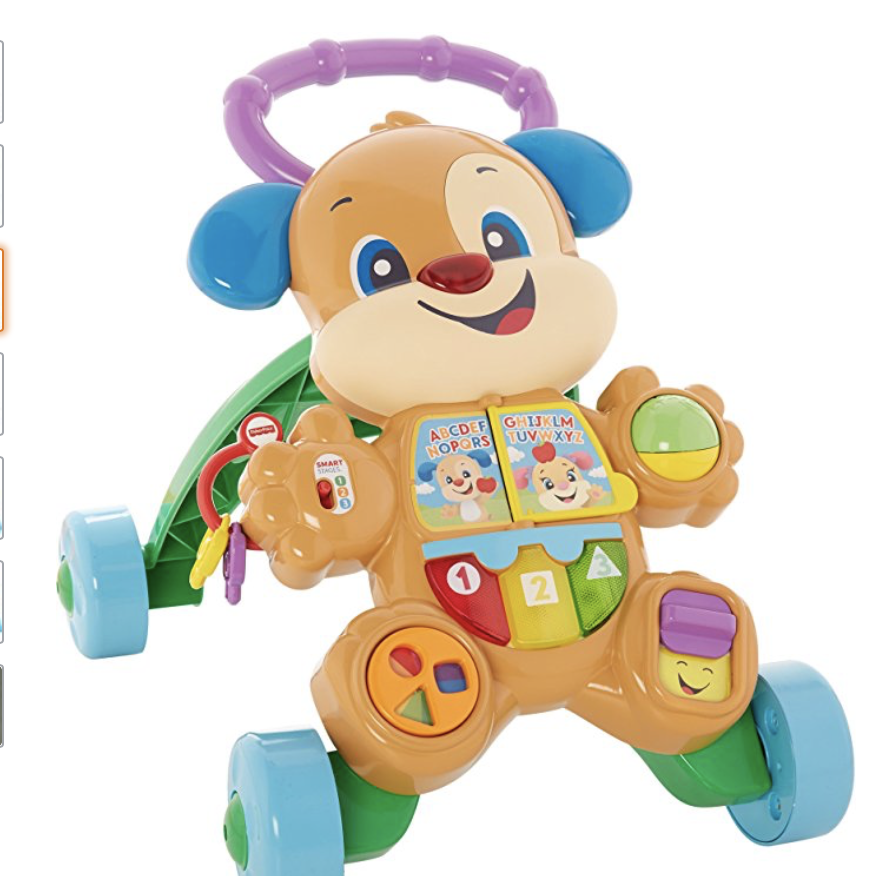 FISHER PRICE LEARN & LAUGH PUPPY WALKER -