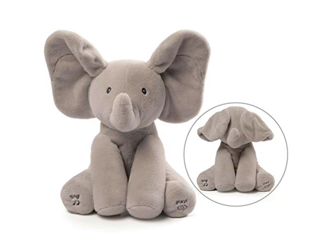 ANIMATED FLAPPY THE ELEPHANT PLUSH TOY -