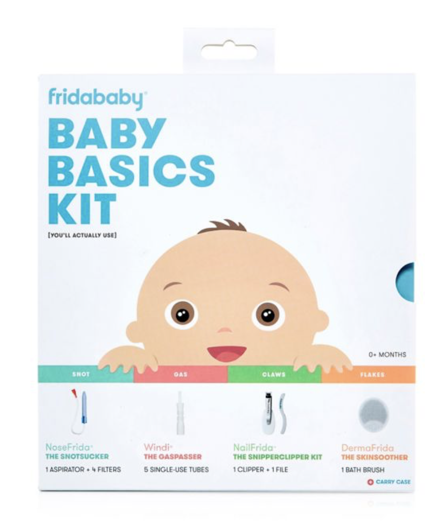 """BABY BASICS KIT - Cant say enough good things about fridababy! And I have used their """"Windi"""" way more times that I like to remember."""