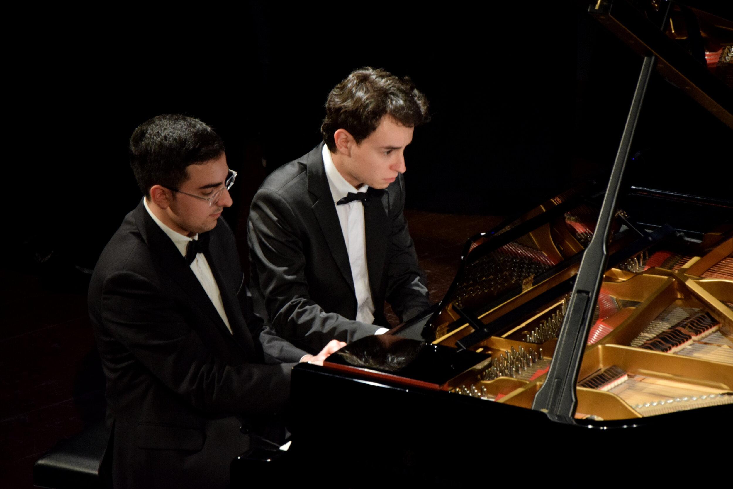 Alberto Ferro e Alex Trolese, Premio Venezia e Premio Casella 2015, Note Future 2016