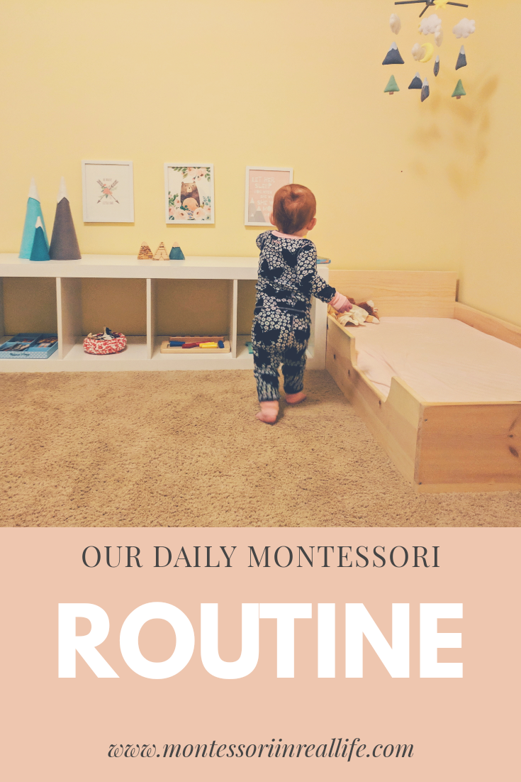 Daily Montessori Routine at 18 Months - Montessori in Real Life