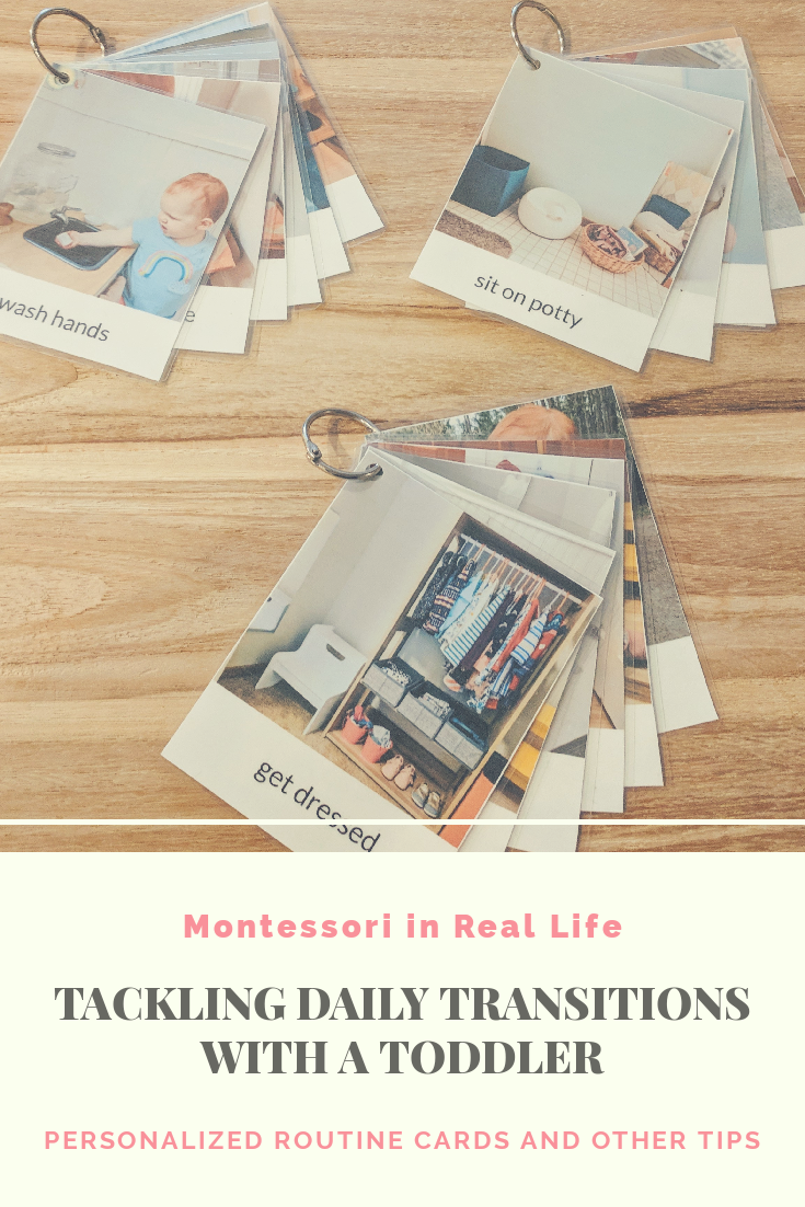 Tackling Transitions with a Toddler - Montessori in Real Life
