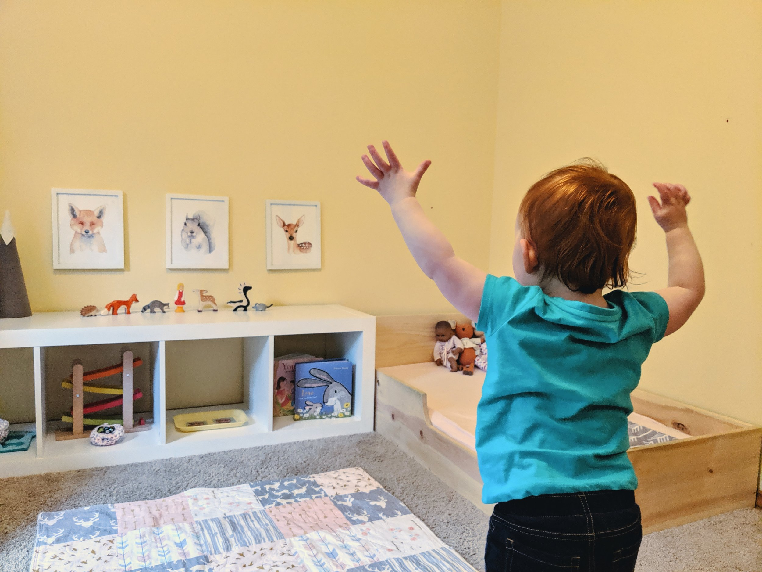 Self-Soothing and the Montessori Floor Bed - Montessori in Real Life