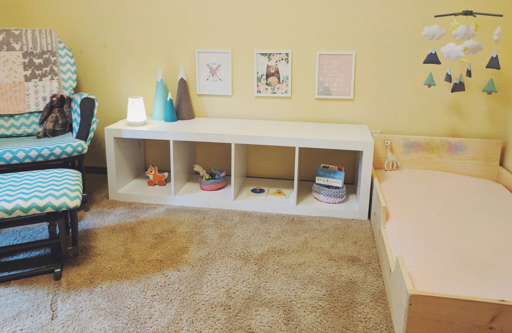 D's Bedroom at 9 Months