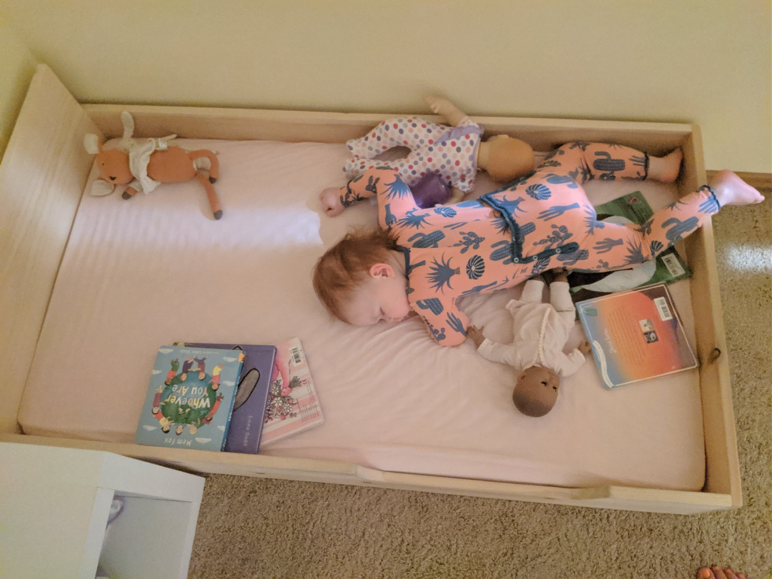 Our Montessori Floor Bed Journey - Montessori in Real Life