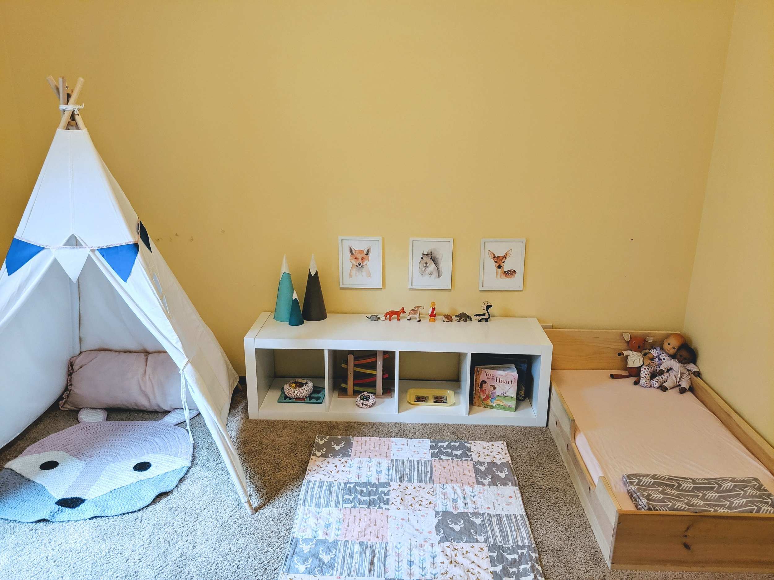 The Montessori Floor Bed and Self-Soothing - Montessori in Real Life