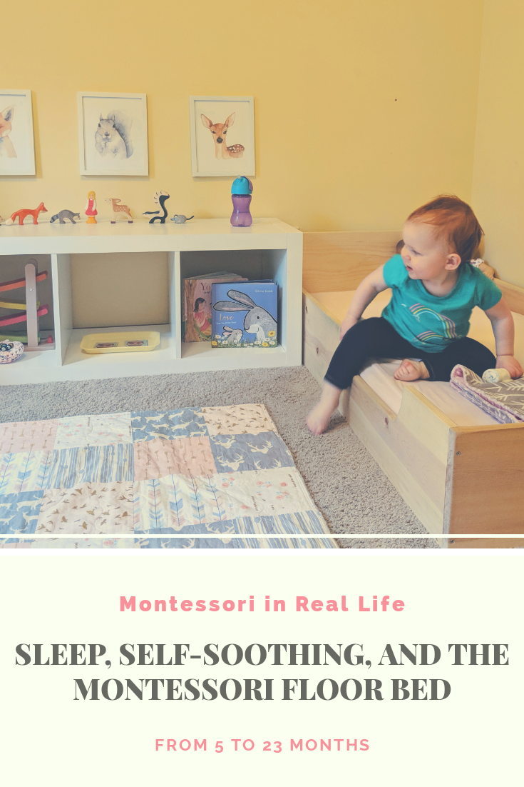 Sleep, Self-Soothing, and the Montessori Floor Bed - Montessori in Real Life