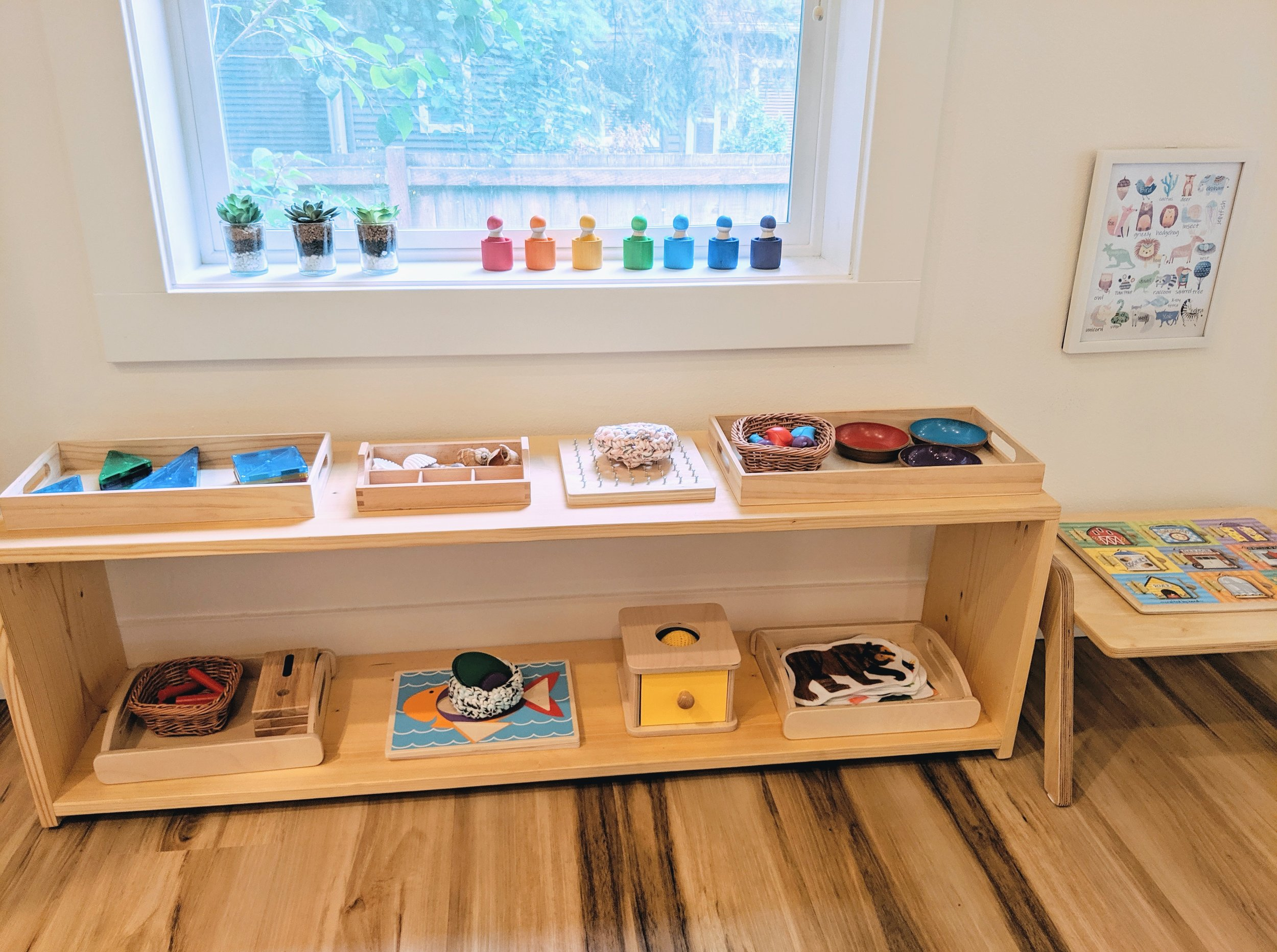Our Montessori Shelf at 24 Months - Montessori in Real Life