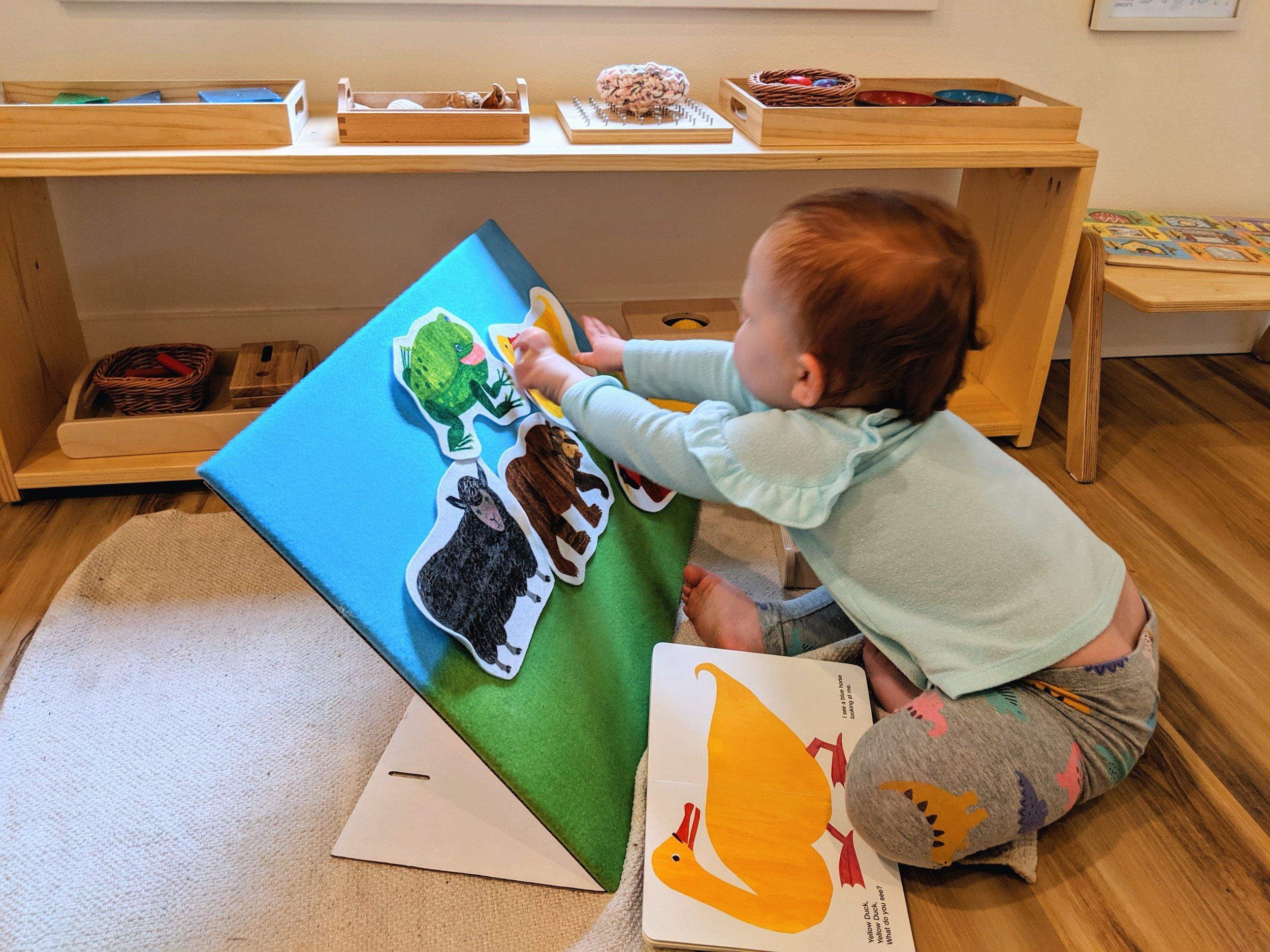 Our Montessori Shelf at 24 Months - Montessori in Real Life