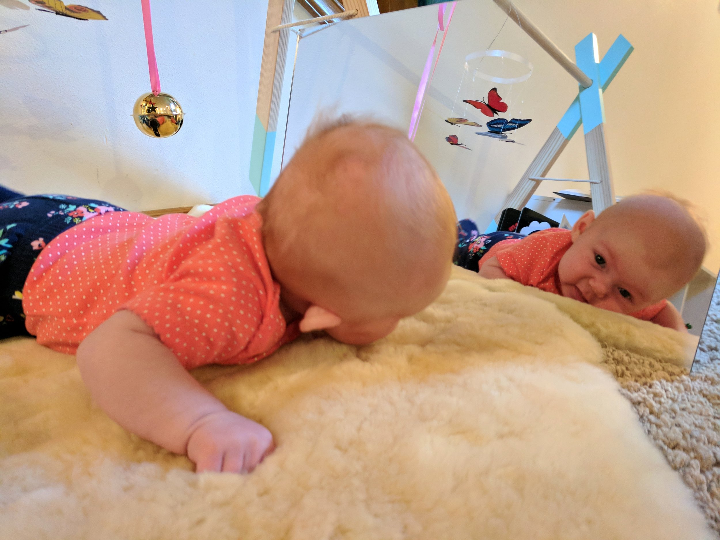 Baby-Led Tummy Time - Montessori in Real Life