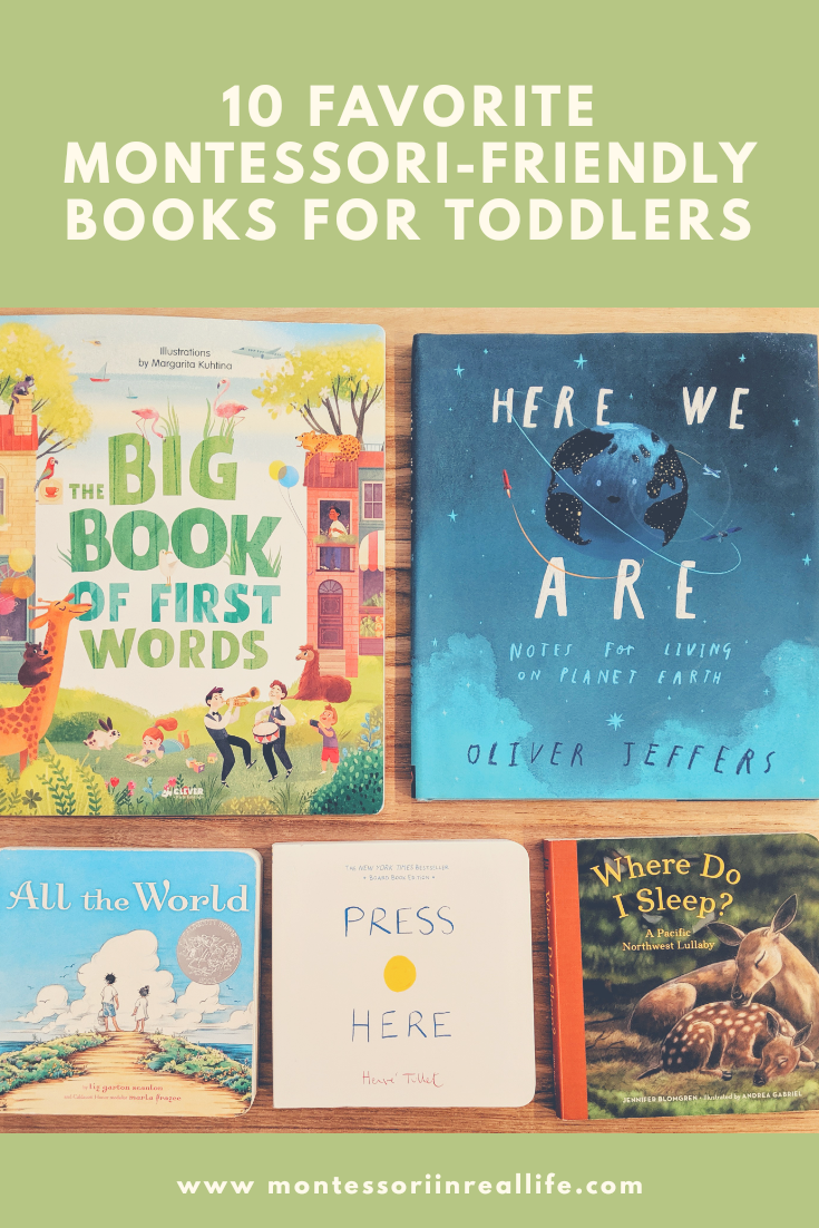 Favorite Montessori-Friendly Books for Toddlers - Montessori in Real LIfe