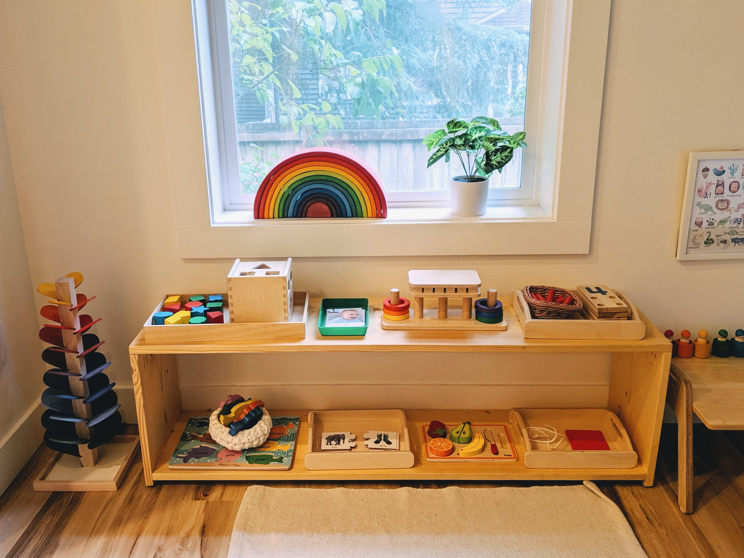 Shelfie at 26 Months - Montessori in Real Life