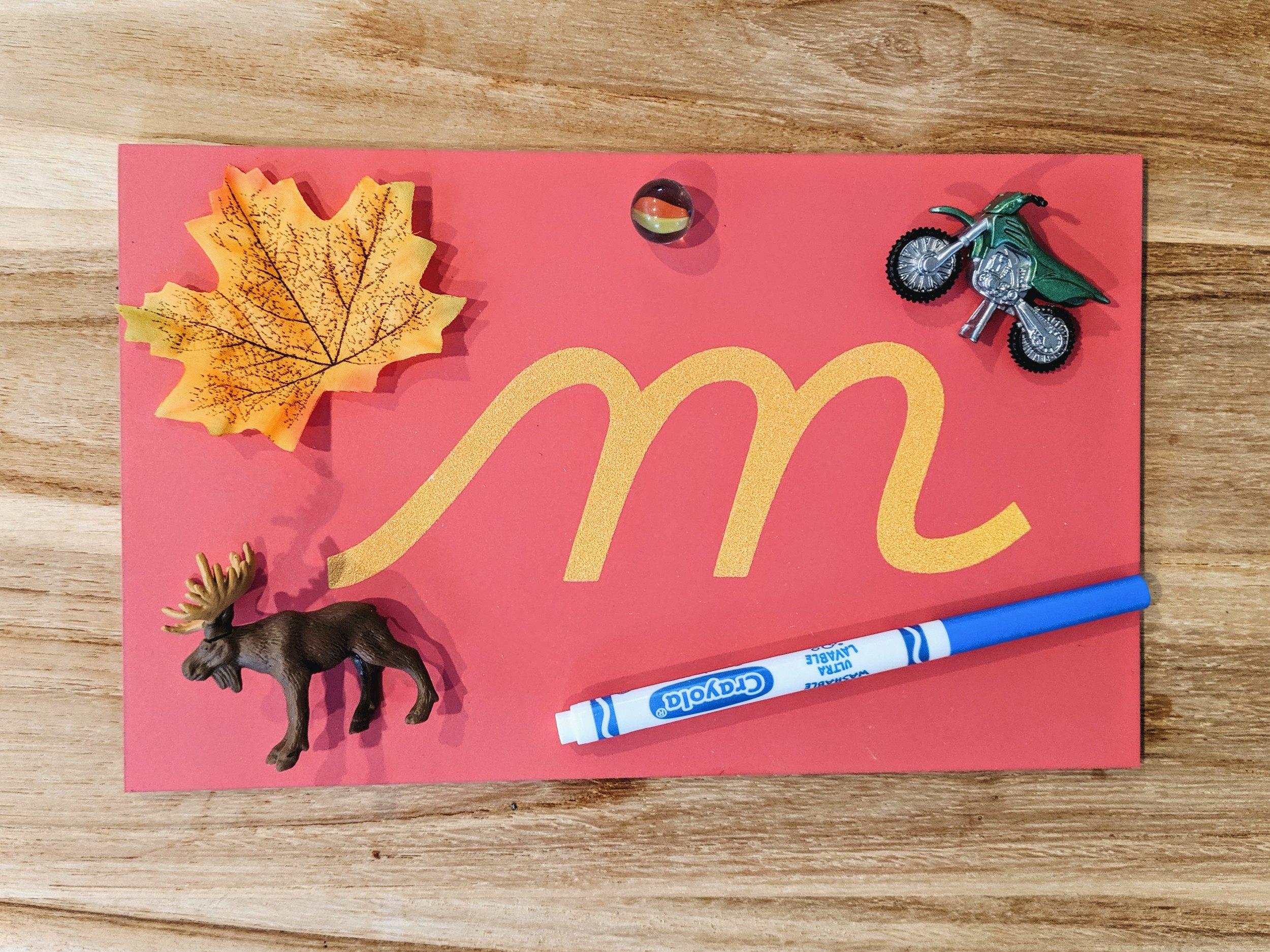 A Montessori Introduction To The Alphabet Montessori In Real Life