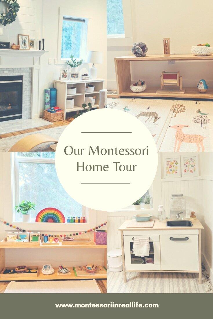 Our Montessori Home Tour Montessori In Real Life