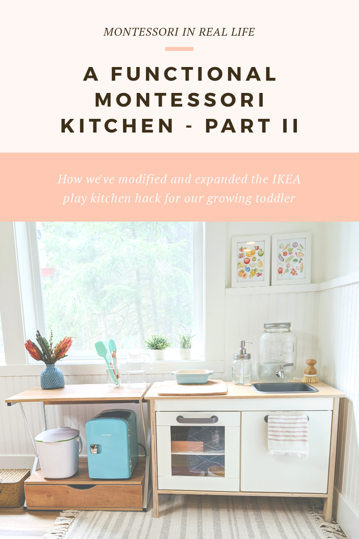 ikea kitchen hack — Blog — Montessori