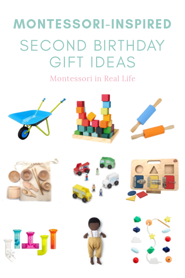 Montessori Inspired Second Birthday Gift Ideas Montessori In Real Life