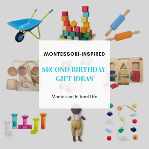 First Birthday Gifts Blog Montessori In Real Life